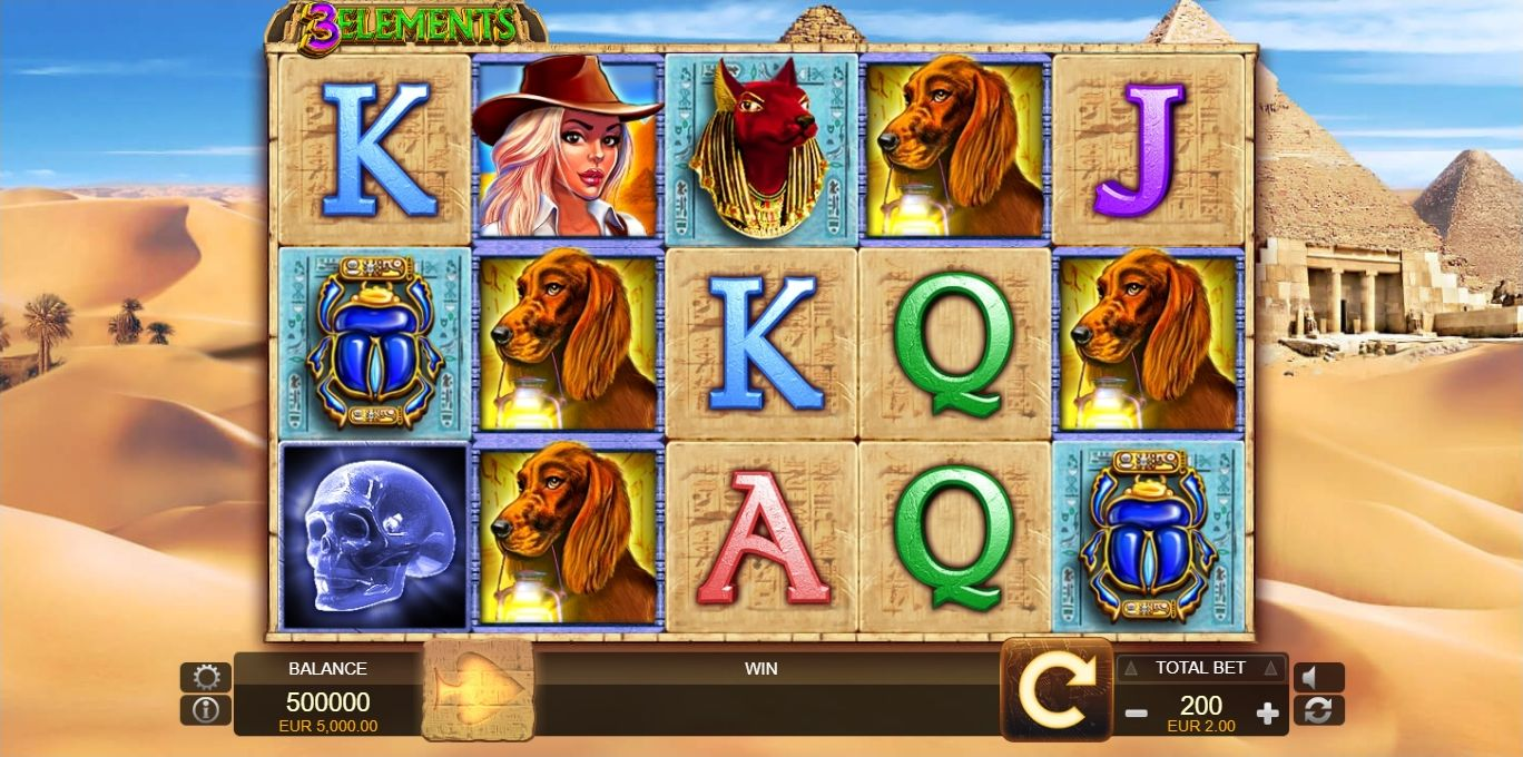 3 elements fuga gaming casino slots Narlı