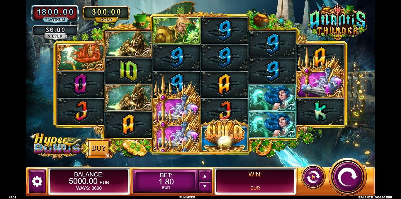 Spiele Atlantis Thunder: St. PatrickS Day - Video Slots Online