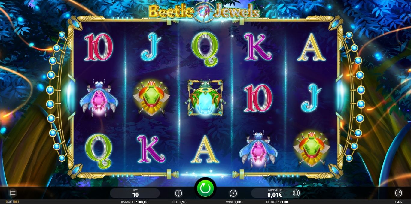 New Beetle Jewels Slot Released At Isoftbet Casinos