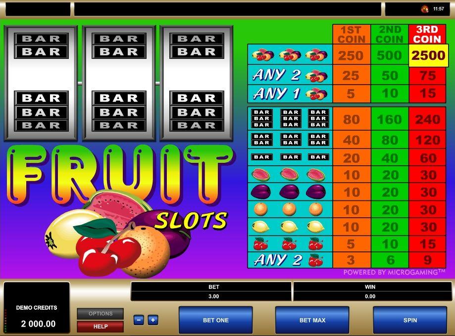 Fruit Slot Games