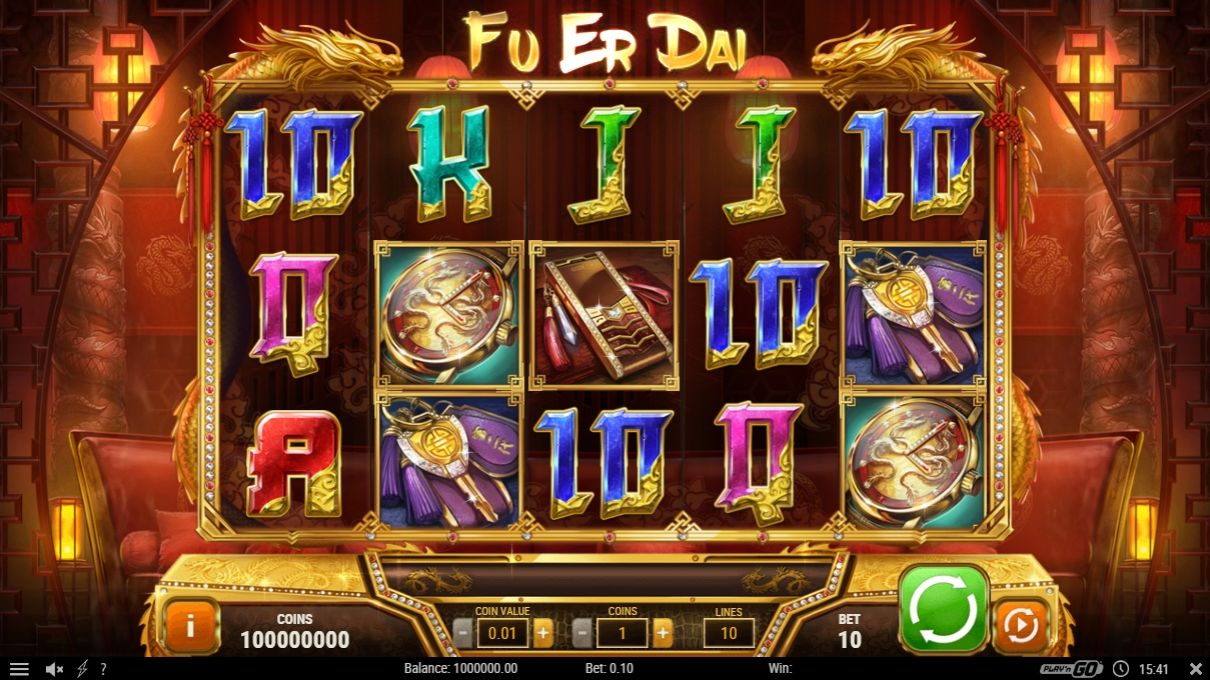 Review of New Fu Er Dai Slot Game
