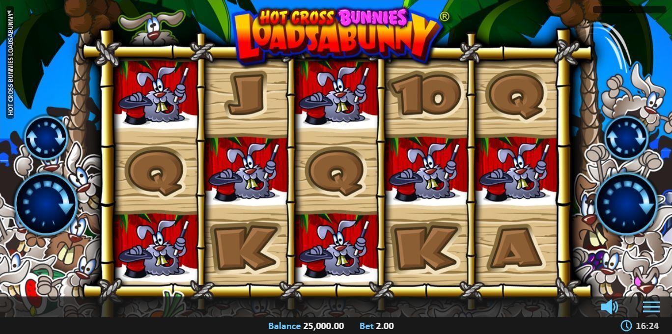 Hot Cross Bunnies LoadsABunny Slot Machine
