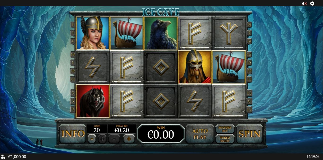 Playtech Releases New Ice Cave Slot