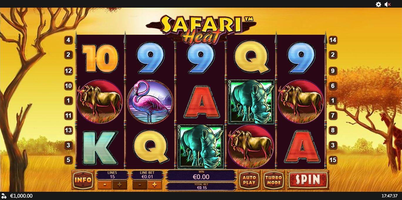 Free Slot Machine Safari Heat