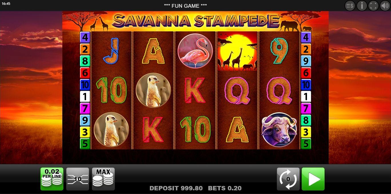 Wild Savanna Slots