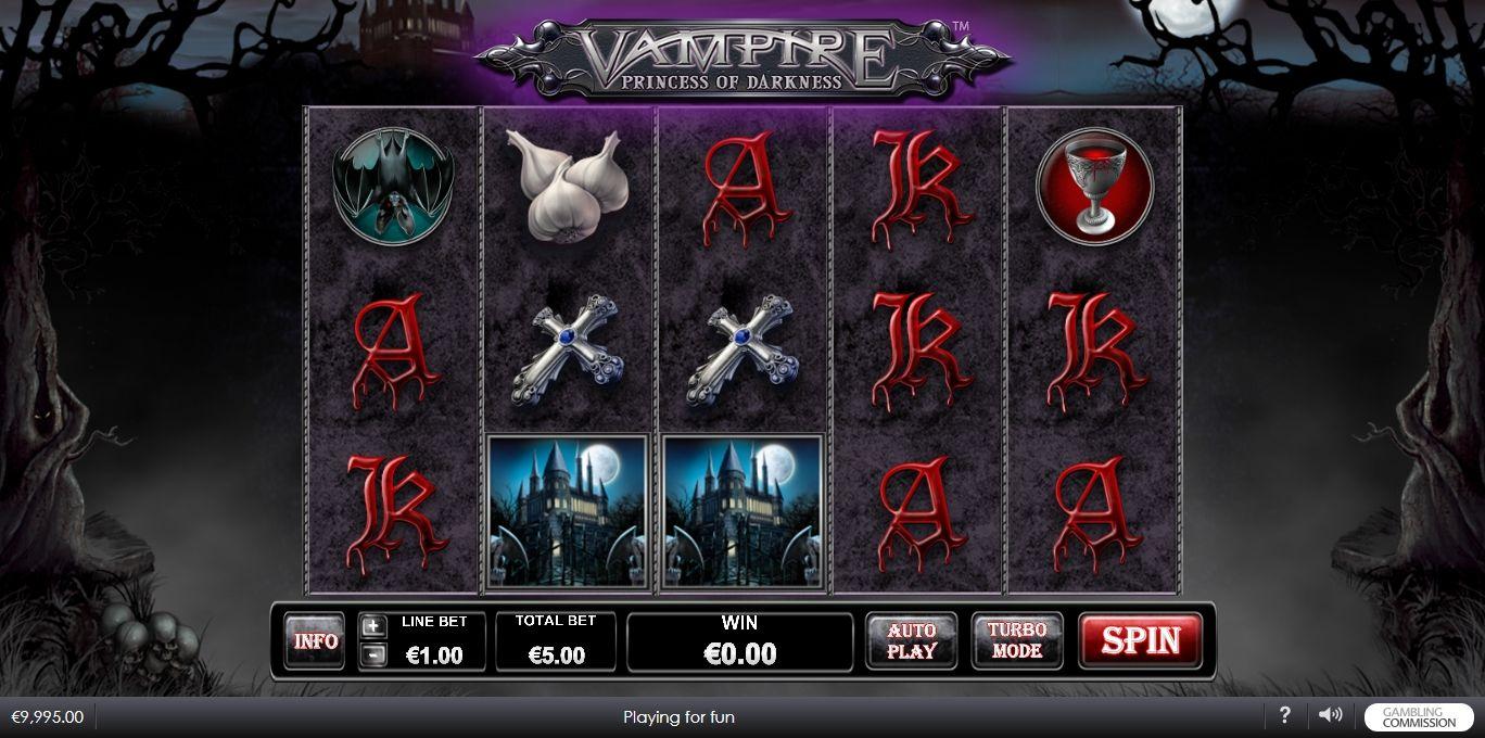Vampire Princess of Darkness Slot Machine